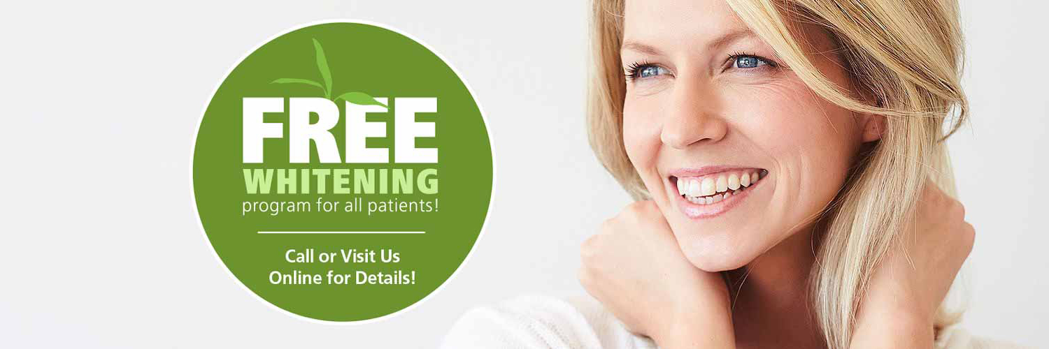 Bayley Dental at Waterloo ON provides free teeth whitening